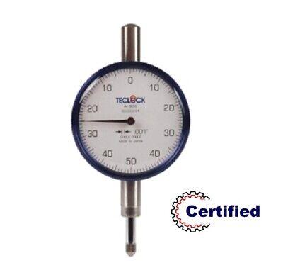26-303-8 Teclock Dial Indicator .250 Range - .001 Grad