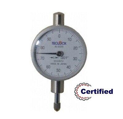 26-300-4 Teclock Dial Indicator .050 Range - .0001 Grad