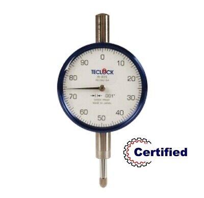 26-301-2 Teclock Dial Indicator .250 Range - .001 Grad