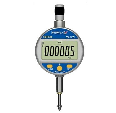 54-530-145 Fowler Sylvac Digital Indicator 1 .0005 Res