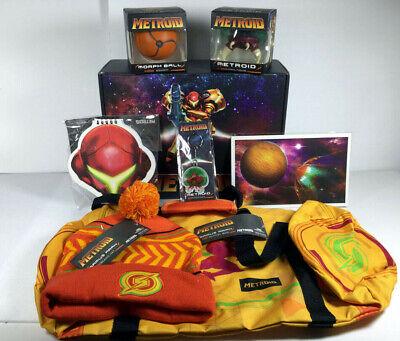 Metroid Samus Returns Collector's Box * Vinyl Beanie Squishy Book Bag Keychain  (Returns Collector)