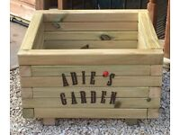 Handmade personalised garden planters . Any shape/size.