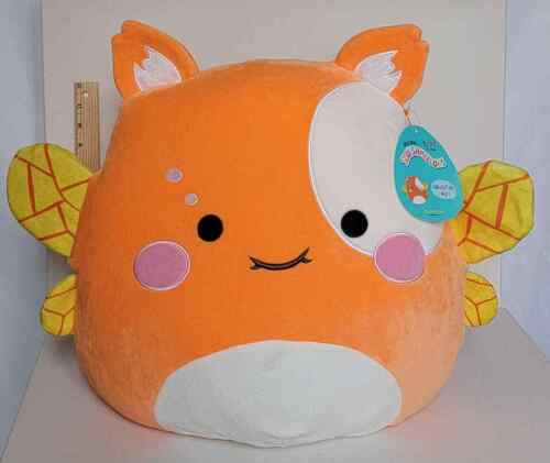 "Squishmallow 16"" Yummy Firefly Soft Orange Plush BNWT Free QUICK Shipping"