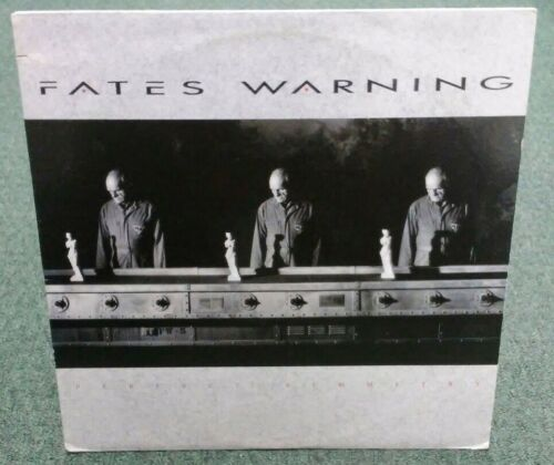 Fates Warning Perfect Symmetry 33 RPM 12 Record. 1989 Metal Blade Label 77348-1 - $55.00