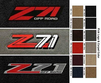 Lloyd Mats Chevrolet & GMC Z71 Velourtex Front Floor Mats (1992 & Up)