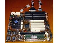586er Mainboard + AMD K6-200 MHz CPU + 64 MB RAM ISA PCI VXpro Nordrhein-Westfalen - Rheine Vorschau