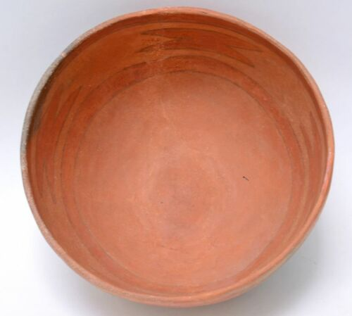 """Prehistoric Pottery - Anasazi, Black and Red on Red - Tusayan Polychrome 8 3/4"""""""