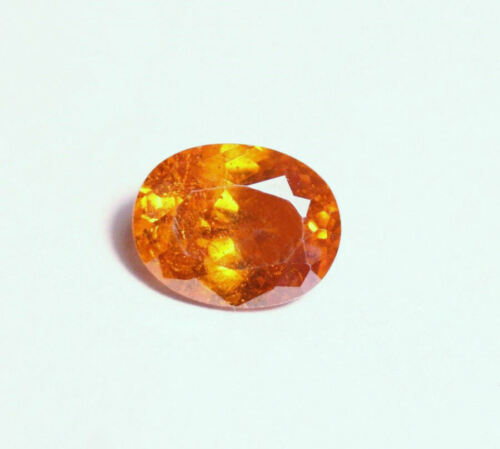 Sphalerite 3ct Vibrant Oval Cut Gemstone Spain Gem Sphalerite 10x7mm