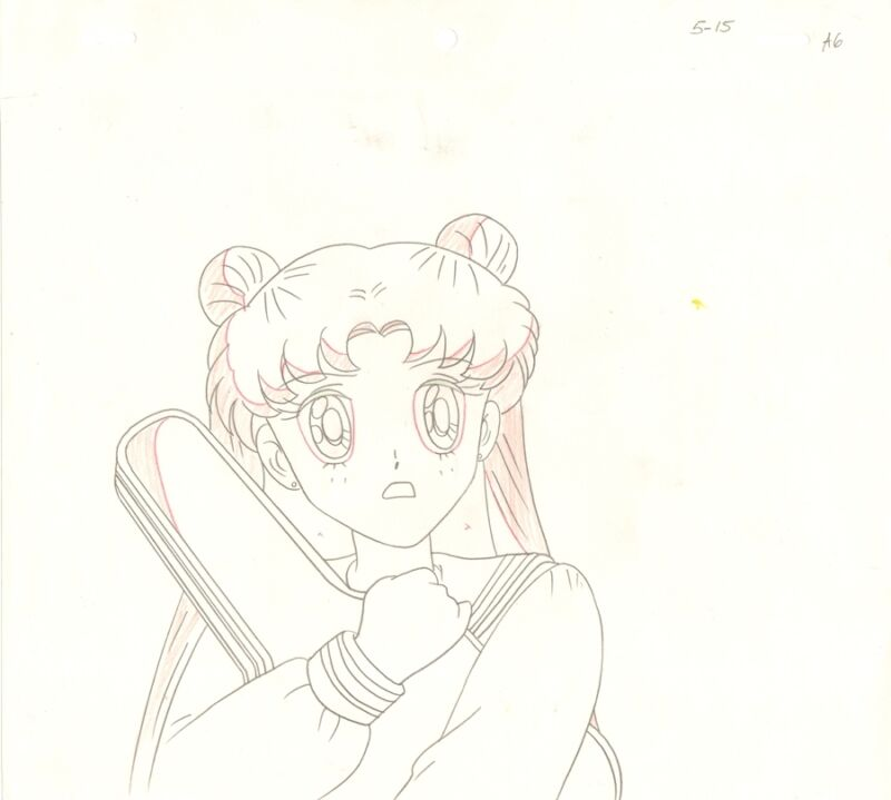 Anime Genga not Cel Sailor Moon #978