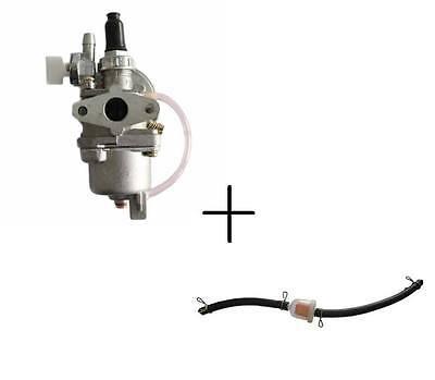 49ccm Vergaser Pocketbike Pocket Quad Benzinhahn Pocket 2 Takt + Benzinfilter