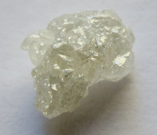 4.52 Carats WHITE Natural Uncut Raw ROUGH DIAMONDS For Kevin