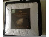 M&S 90% Pyrenean Goose Down, 10% Goose feather, 13.5 Tog King duvet, Made in GB