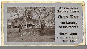 Mt Chalmers History Centre OPEN DAY 5 Feb Emu Park Yeppoon Area Preview