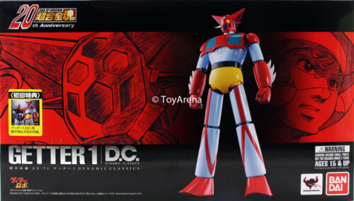 Soul of Chogokin GX-74 Getter 1 D.C. (Dynamic Combo) Action Figure BANDAI USA