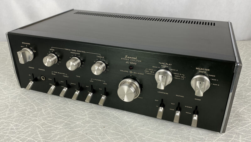 SANSUI AU-6600 STEREO INTEGRATED AMPLIFIER