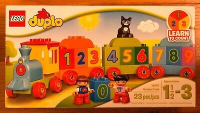 LEGO DUPLO 10847 Number Train - Full Set - Kids Educational Counting Toy.