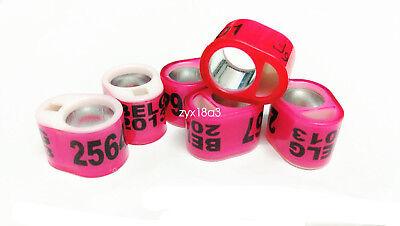 100pcs customized racing pigeon club loft band ring combination plastic supplies