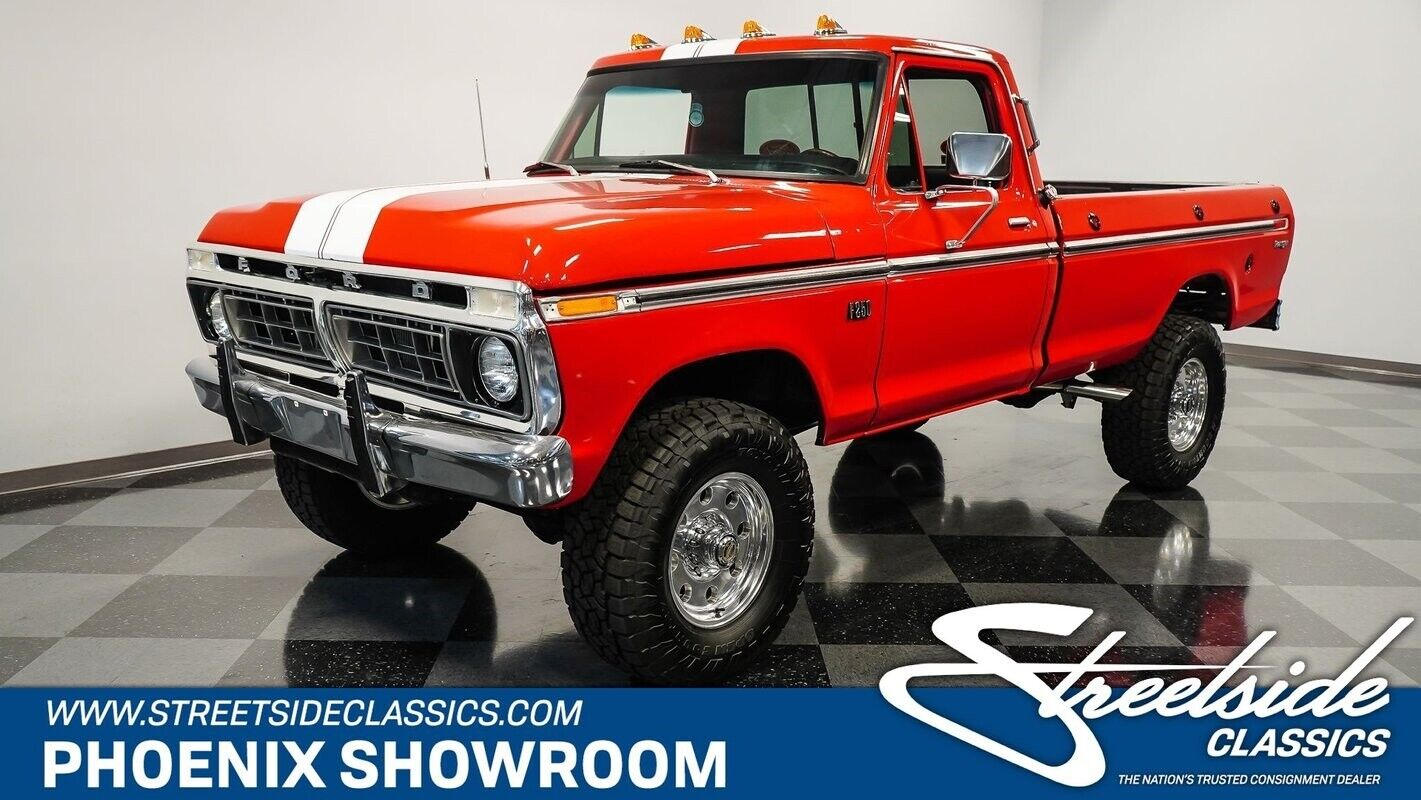 V8 Auto Classic Vintage Collector Lifted Offroad Four Red Holley Hedman
