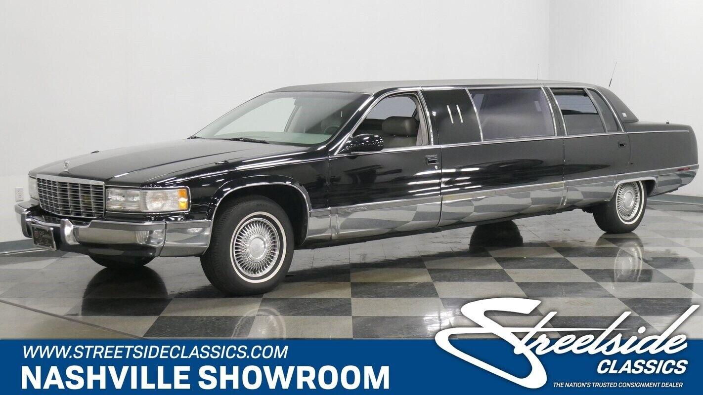 Low mileage limo limousine