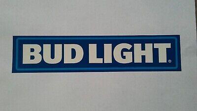 Official Bud Light Beer Full Color Logo Sticker Budweiser Anheuser Busch
