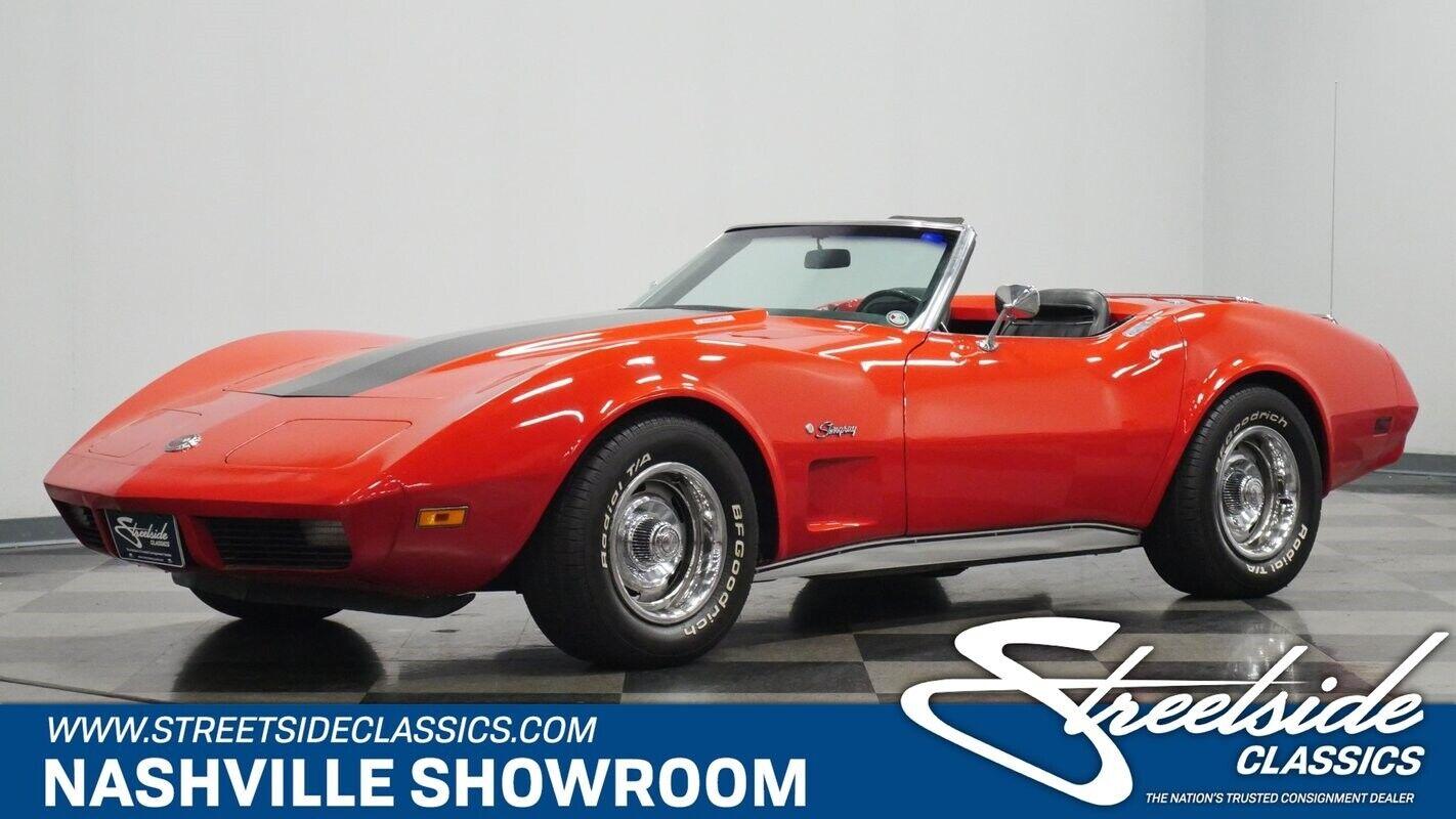 1974 Red Chevrolet Corvette Convertible  | C3 Corvette Photo 1
