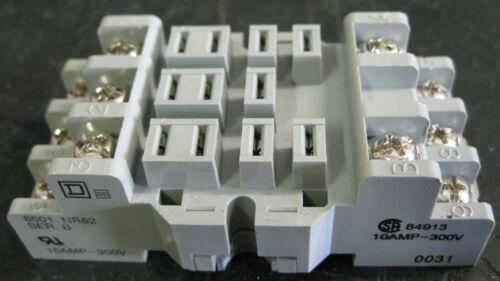 Square D 8501 NR82 Relay Socket Series B