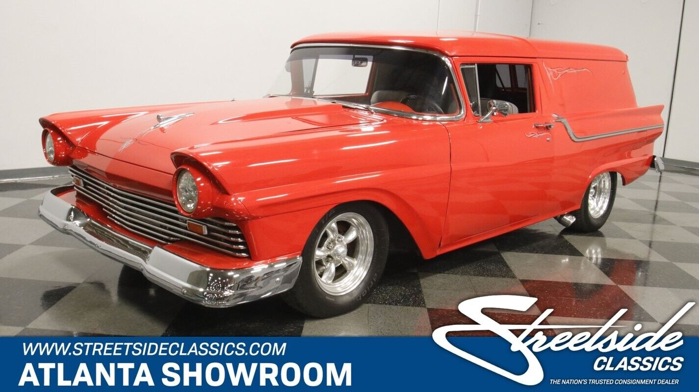 classic vintage chrome fomoco delivery 429 v8 3-speed auto transmission red