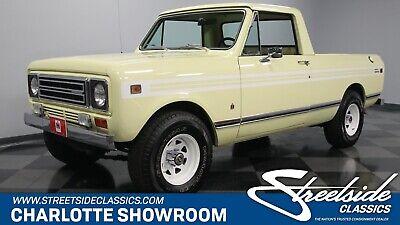 1979 International Scout Terra classic vintage chrome truck automatic 4 wheel drive