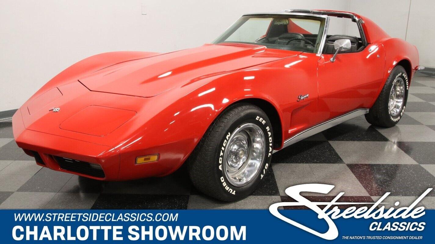1971 Red Chevrolet Corvette   | C3 Corvette Photo 1
