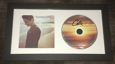 Chris Carrabba Signed Dashboard Confessional Dusk And Summer Framed Cd W Proof