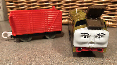 THOMAS Train Trackmaster Motorized Diesel 10 and Cargo Car Lot 2009