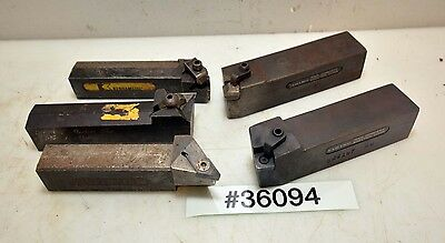 Lot Of Five Turning Tool Holders Inv.36094
