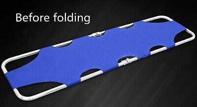 Aluminum Foldable Stretcher Medicalhome Patient Emergency Stretcher Bed Wjd1-1a