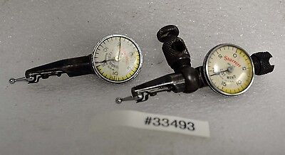 Lot Of Two Starrett No. 711 Last Word Indicators Inv.33493