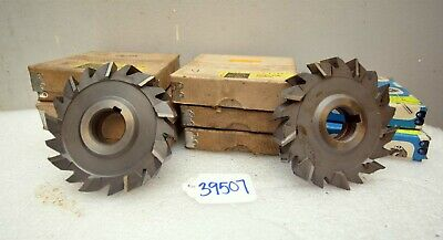 Large Lot Of Staggered Tooth Side Milling Cutters Inv.39507