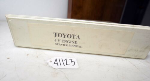 Toyota 4y Engine Service Manual (Inv.41123)