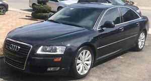 Luxury Phantom metallic black Audi A8 4.2 V8 Quattro