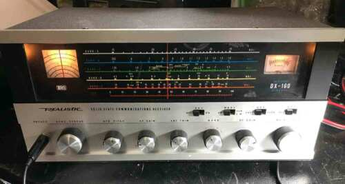 REALISTIC DX-160 HF RECEIVER VINTAGE SOLID STATE AND WORKING GREAT