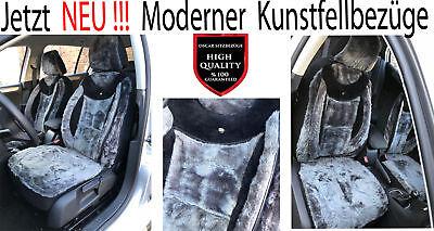 AUDI Q7 AB BJ 2005 Lammfell Imitat Sitzbezüge Schonbezüge Kunstfell PL888, gebraucht gebraucht kaufen  Bremen