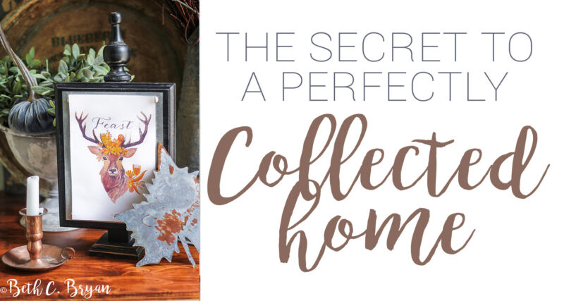 Three Secrets to a Perfectly Collected Home