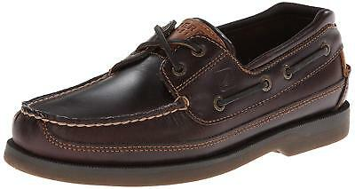 Mako Boat Shoes - Sperry 0764027W: Mens Mako 2 Two-Eye Amaretto Boat Shoes
