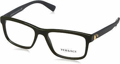 Versace Mens Eyeglasses VE3253 5193 53mm Green / Demo Lens [53-17-140]