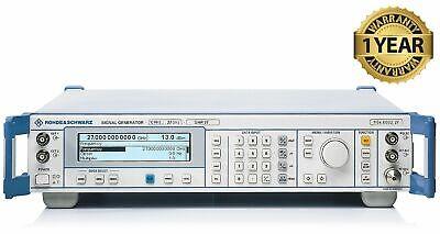 Rohde Schwarz Smr27 27ghz Microwave Signal Generator W Options B11b15