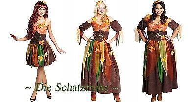 KOSTÜM KLEID ELFE FEE Sexy Waldfee Herbstfee Mittelalter LARP (Sexy Mittelalter Kleid)