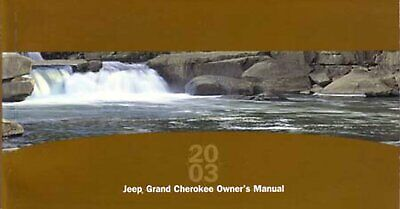 Bishko OEM Maintenance Owner's Manual Bound for Jeep Grand Cherokee