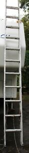 12 ft. aluminum extention ladder