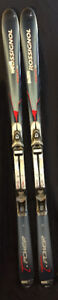 New Rossignol T-Power Axium Twin D Skis.