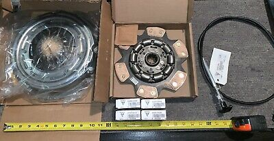 7 Qty Bulk Mix Lot Vermeer Tractor Clutch Disc Clutch Cover Cable Relay