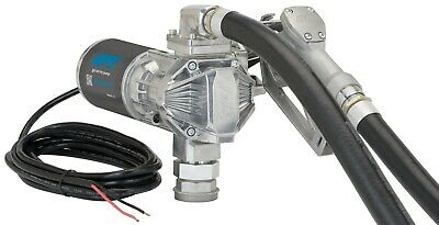 Gpi 162000-02 G20-012md 12v 20 Gpm Manual Nozzle Fuel Transfer Pump