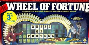 Vintage Wheel of Fortune Board Game 1985  3rd Edition Pressman NEW / SEALED